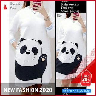 KRS0231K64 Panda Tunik Muslim BMGShop