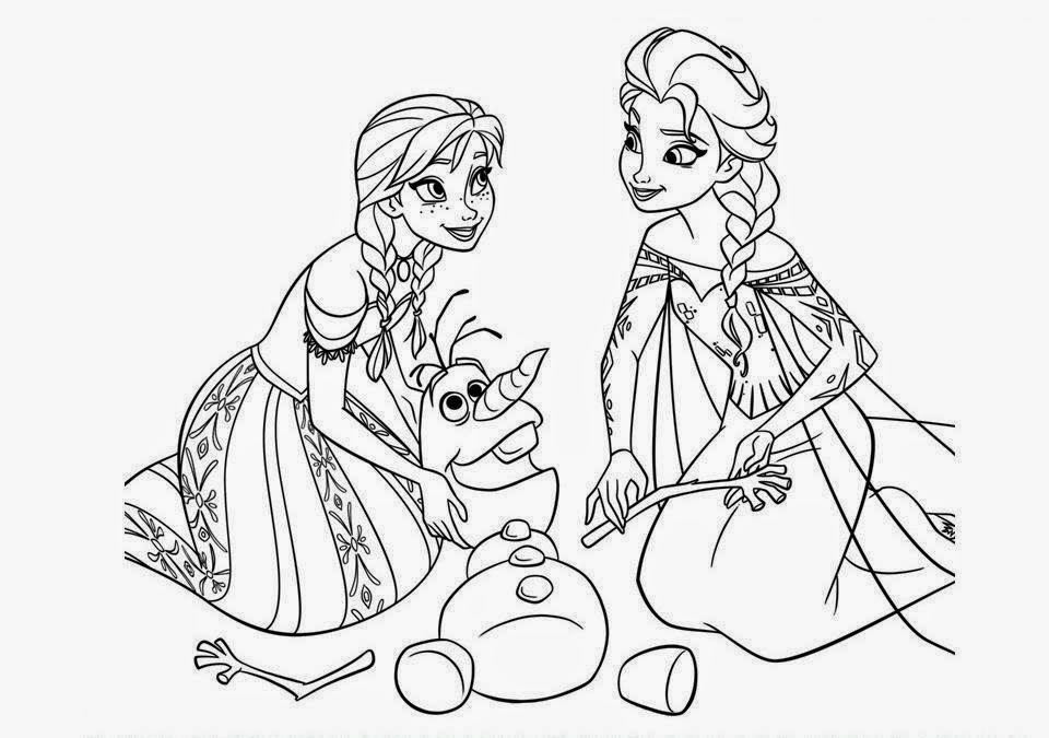 Colour Drawing Free HD Wallpapers: The 50 Frozen Coloring ...