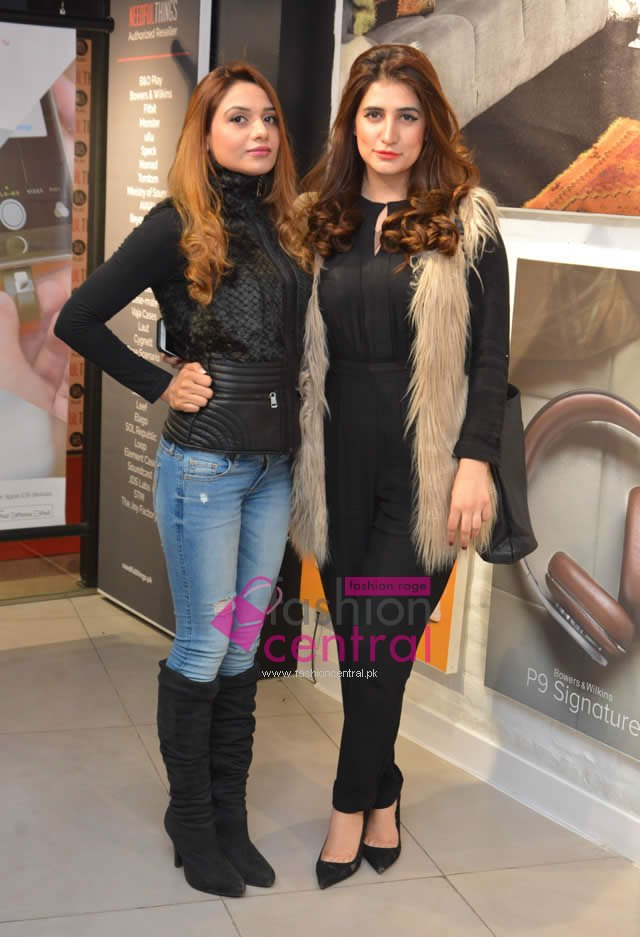 Current Events Pakistani Fashion Events Women Dresses Women's Fashion Fashion Launching of Bang and Olufsen B&O Play In Islamabad