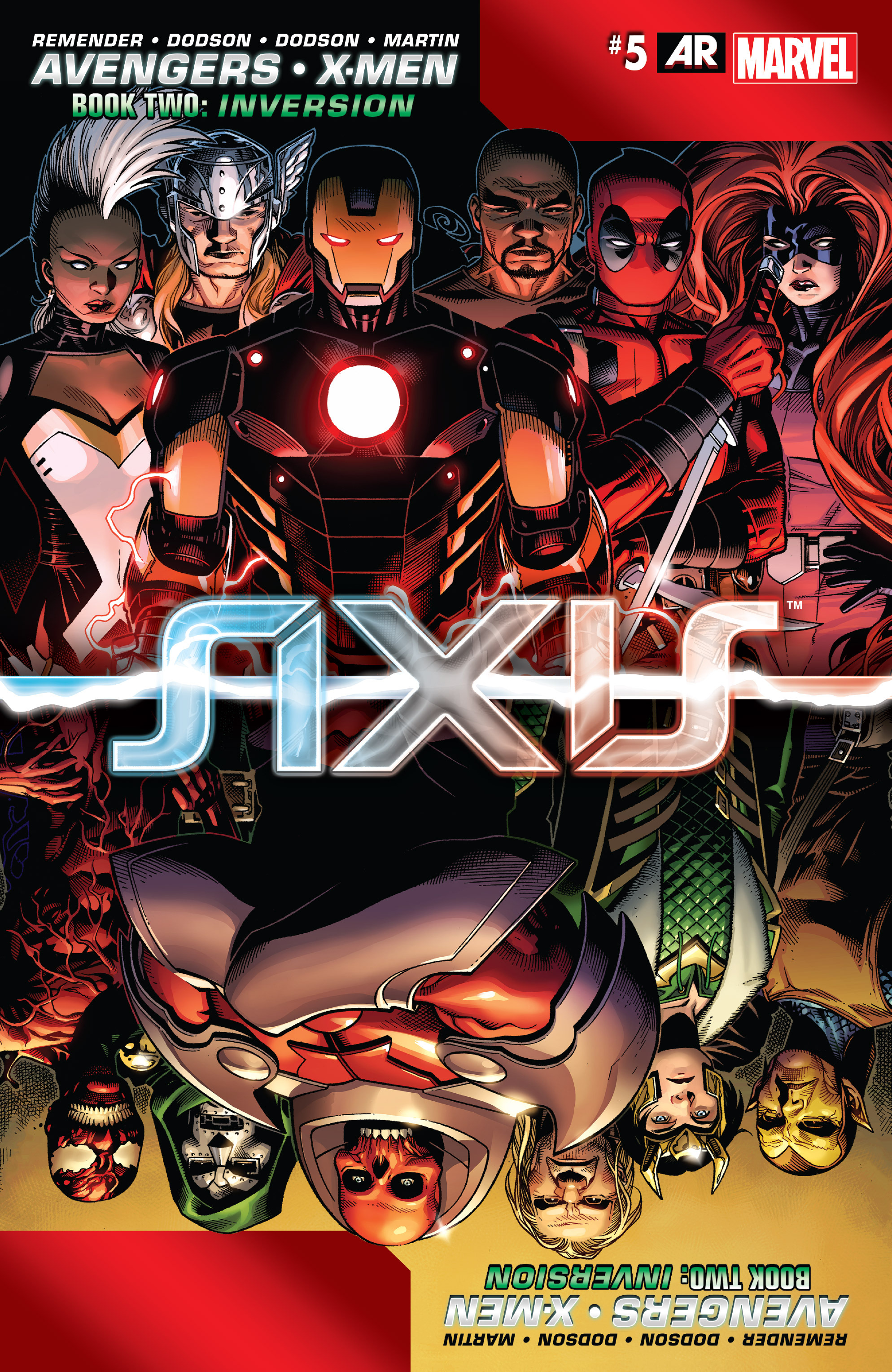 Read online Avengers & X-Men: AXIS comic -  Issue #5 - 1