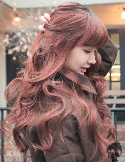 gaya rambut korea wanita