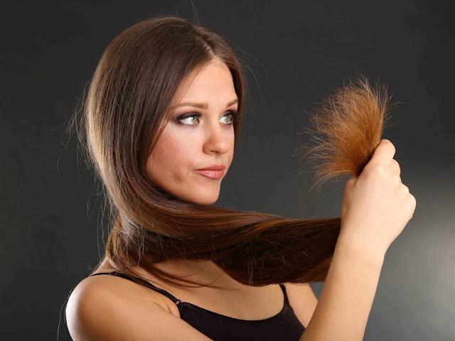 perawatan rambut bercabang