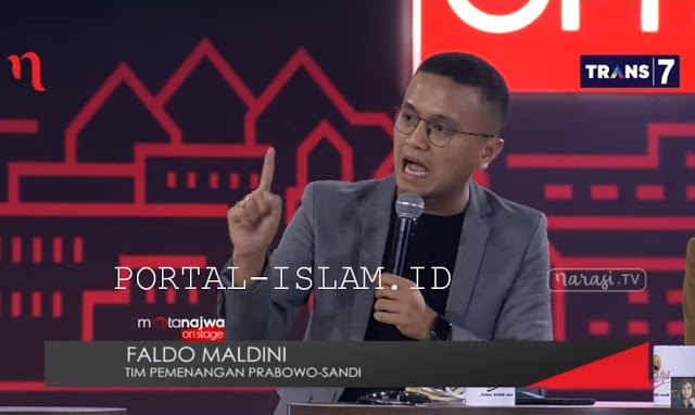 Jeder! Timses Prabowo-Sandi Faldo Maldini Mengguncang Mata Najwa, Tepuk Tangan Riuh Membahana