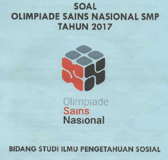 Download Soal OSN IPS SMP 2017