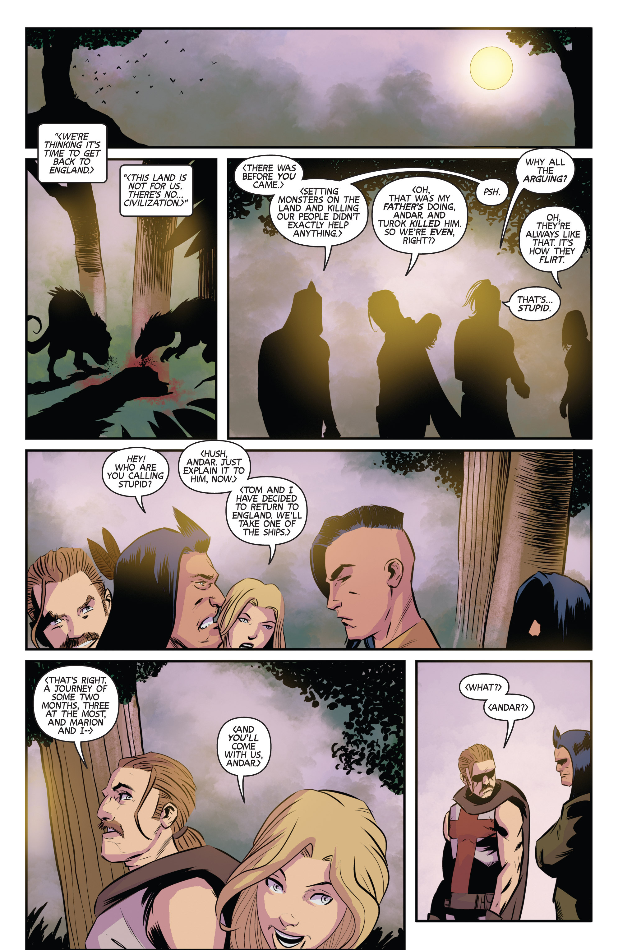 Read online Turok: Dinosaur Hunter (2014) comic -  Issue # _TPB 3 - 11