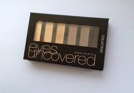Collection Eyes Uncovered Nude Palette Review - Paint the Roses Red