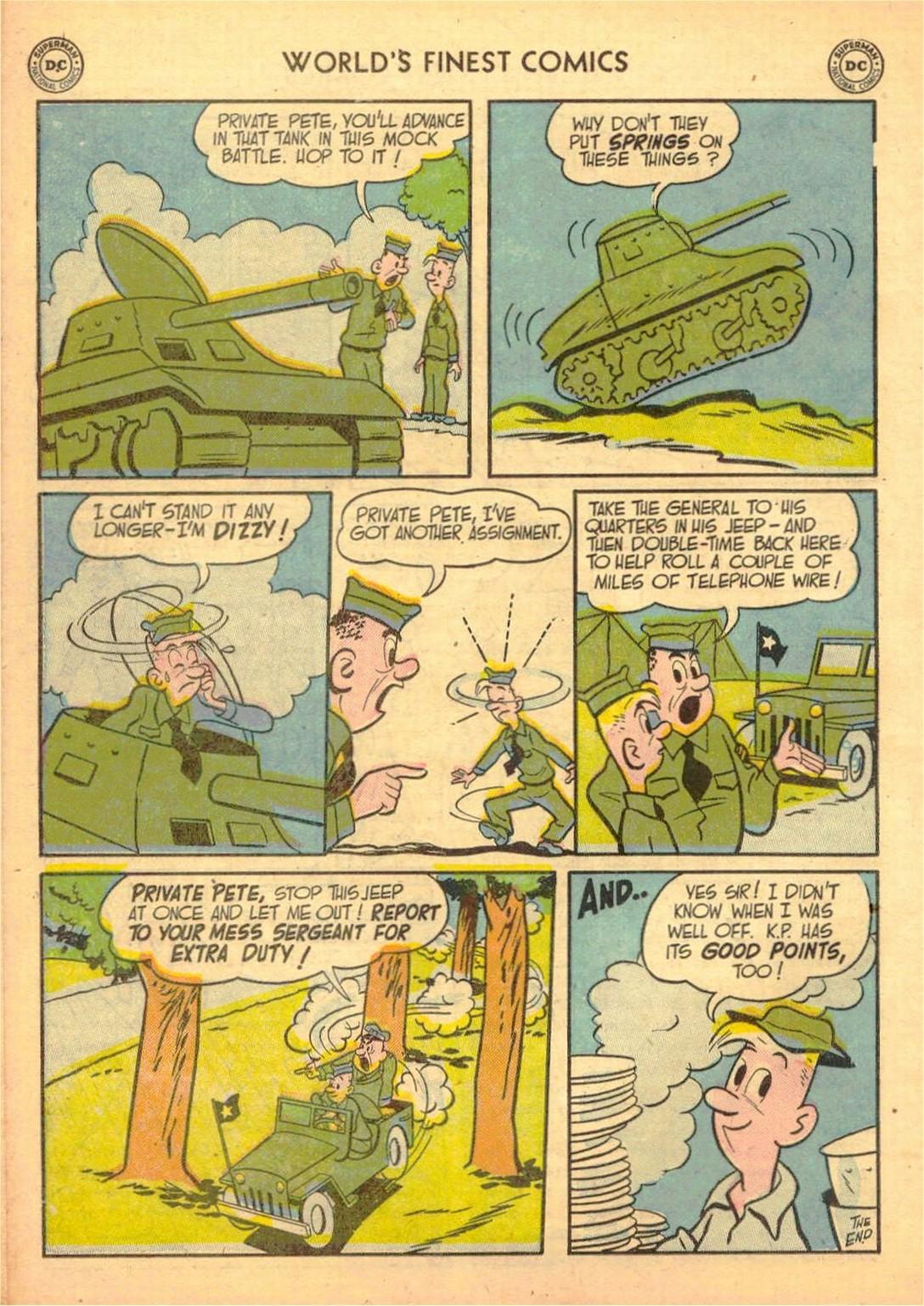Read online World's Finest Comics comic -  Issue #58 - 50