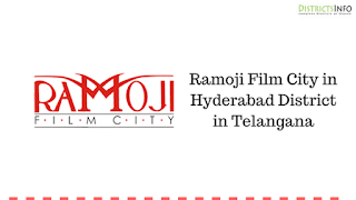 Ramoji Film City in Hyderabad District in Telangana