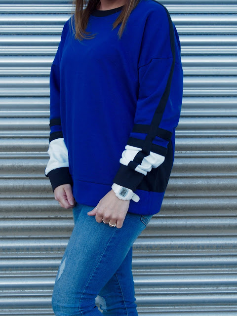 New Look colour block jumper