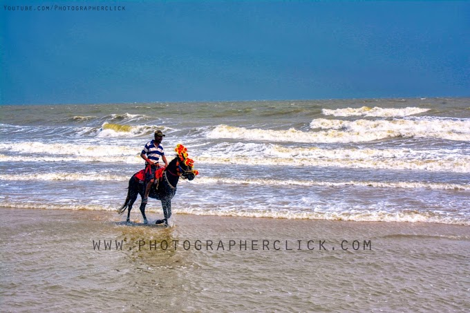 Horse Riding On Digha Beach