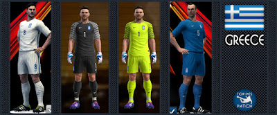 PES 2013 Greece 2016-17 Kits by Radymir