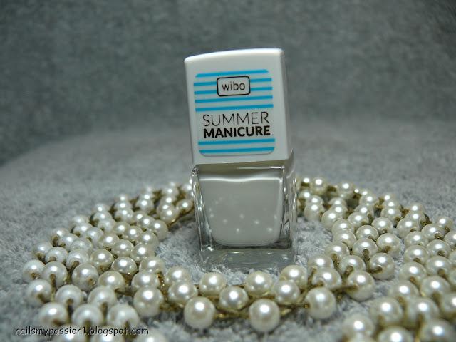 W poszukiwaniu idealnej bieli - Wibo Summer Manicure nr 1