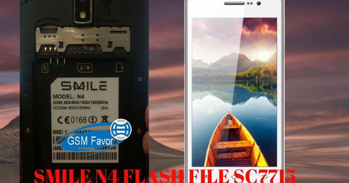 Smile N4 Firmware C7715 4 4 2 Flash File Download 100