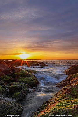 Sunrise at Beavertail State Park Rhode Island