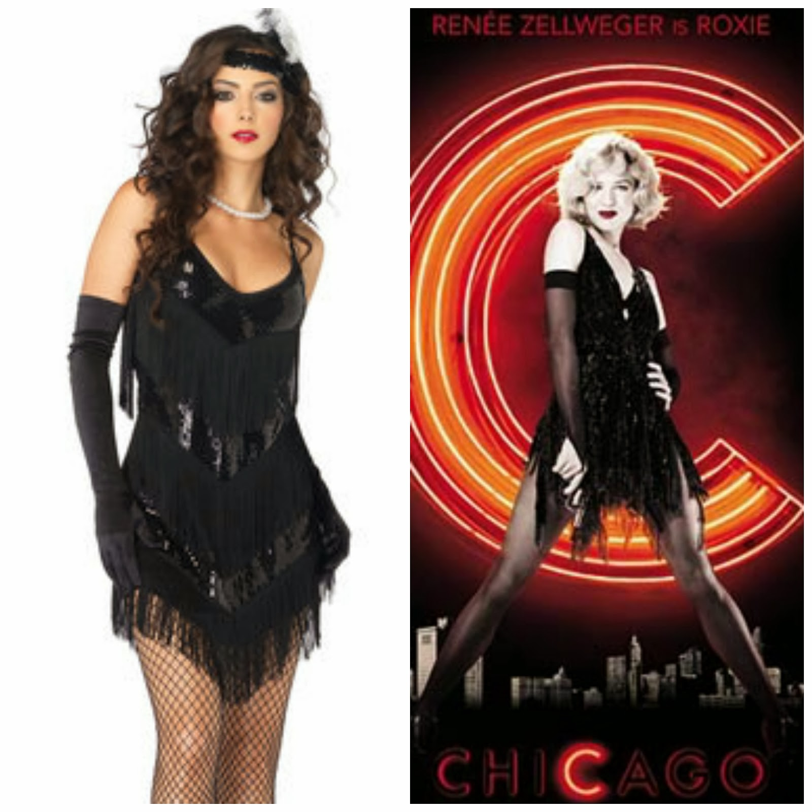 Roxie Hart Fancy Dress Outfit, 20's Halloween Outfit, Great Gatsby Fancy Dress, Female Fancy Dress