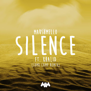 Marshmello, SUMR CAMP & Khalid - Silence (SUMR CAMP Remix) - Single Cover
