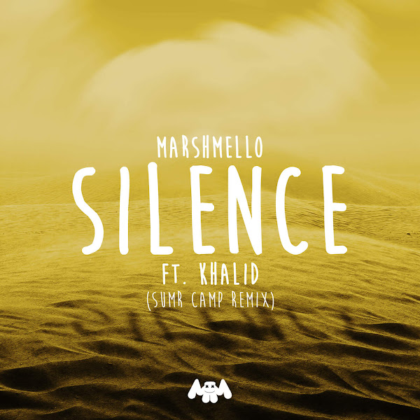 Marshmello, SUMR CAMP & Khalid - Silence (SUMR CAMP Remix) - Single Cover