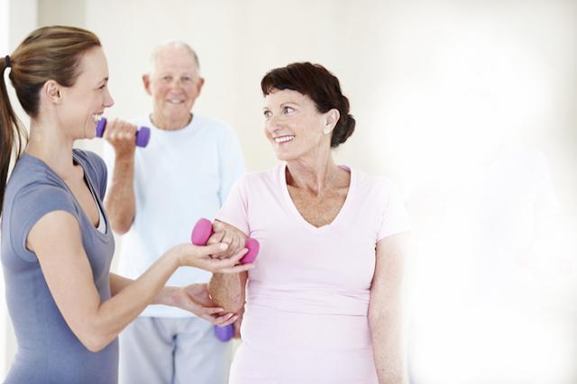Exercícios pra idosos