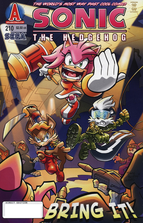 Read online Sonic The Hedgehog comic -  Issue #210 - 1