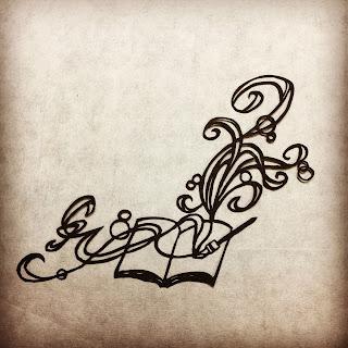 影織の名刺に使った切り絵作品