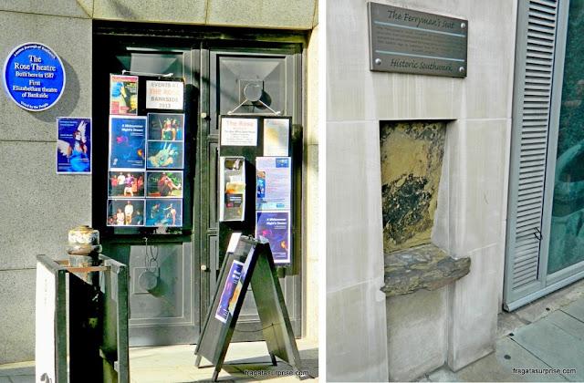 Teatro Rose, Londres, remanescente do Século 16
