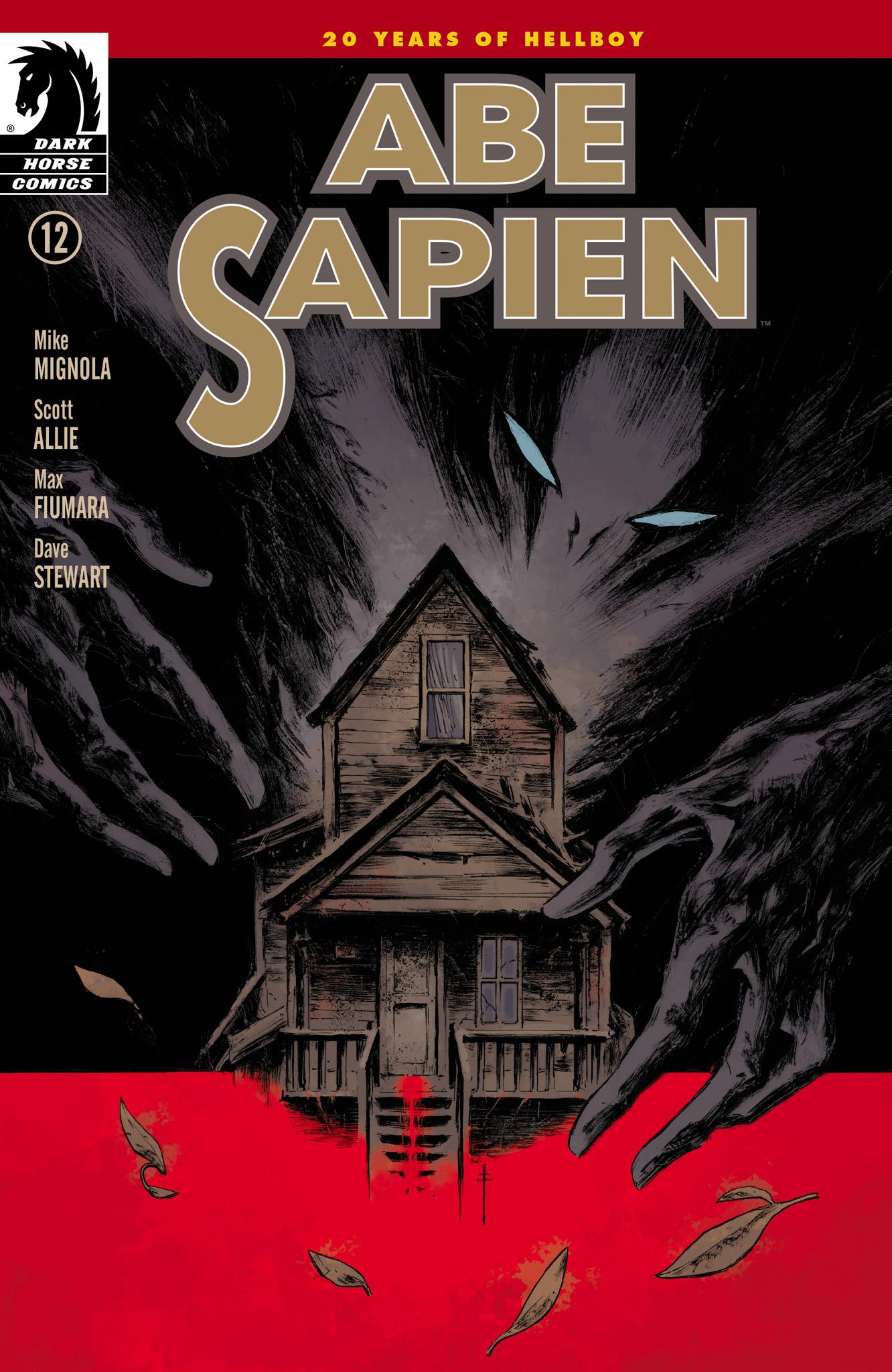 Read online Abe Sapien comic -  Issue #12 - 1