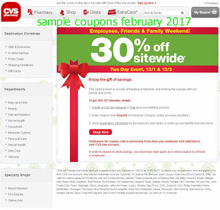 Cvs Pharmacy coupons february