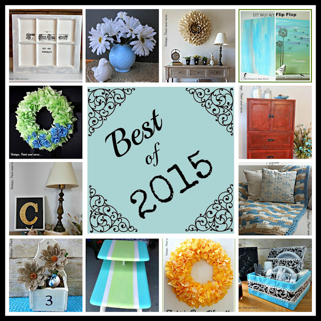 collage of best diy projects and crafts of 2015