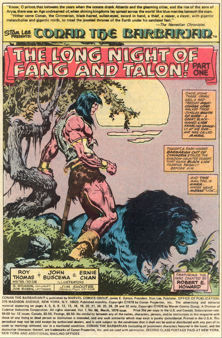Conan the Barbarian (1970) Issue #96 #108 - English 2
