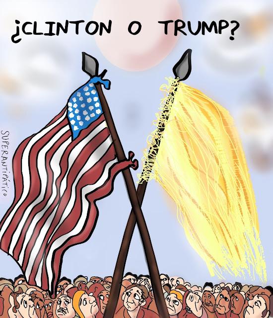 ¿Clinton o Trump?