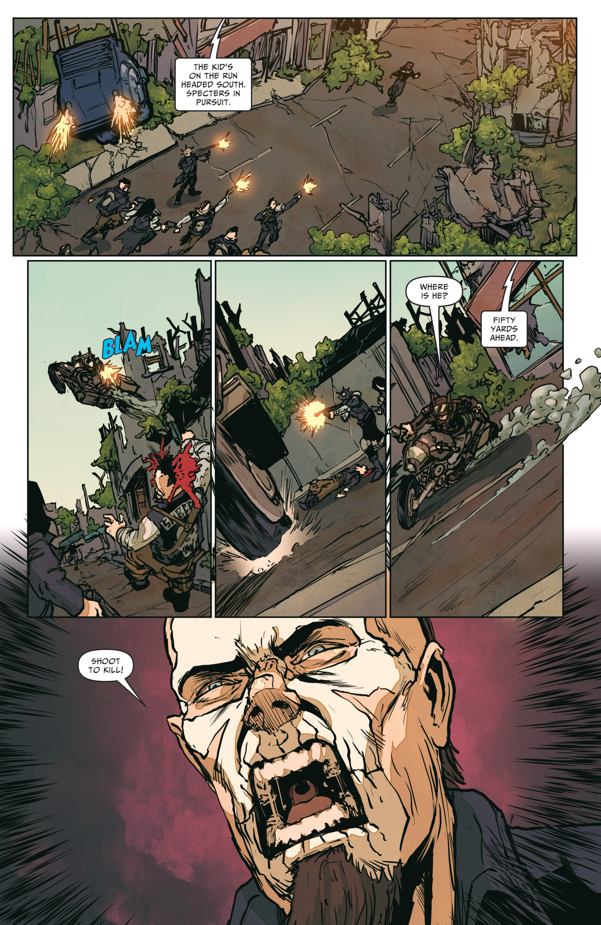 Read online The Courier: From the Ashes comic -  Issue #3 - 18