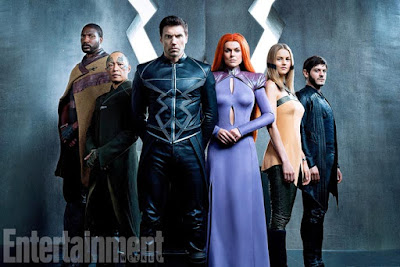 "Familia Real de ""Marvel's Inhumans""."