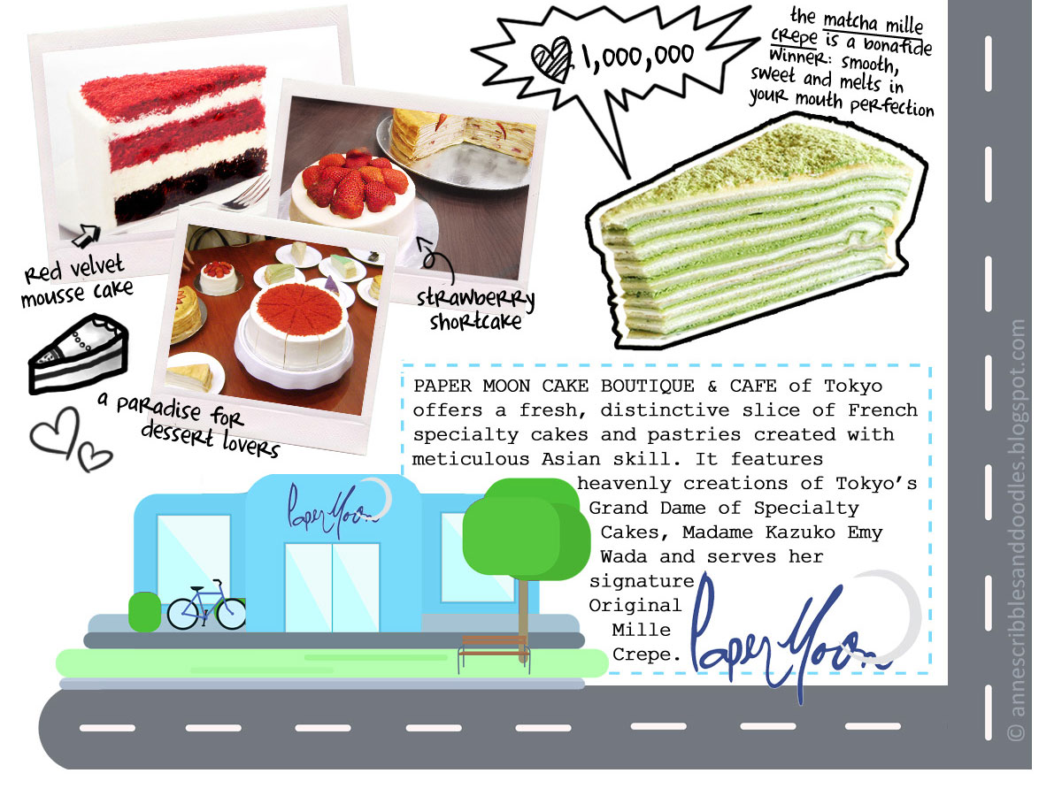 Foodpanda's The Good Food Tour: Paper Moon | Anne's Scribbles and Doodles