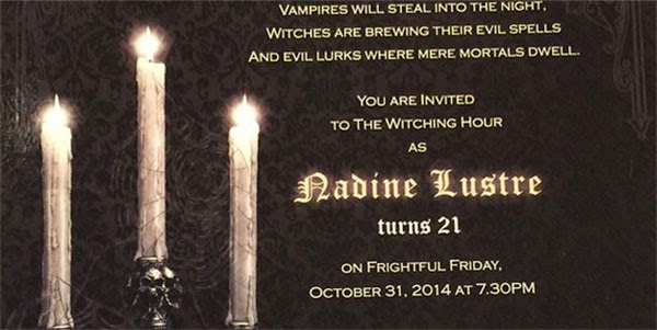 Happy Birthday Nadine Lustre