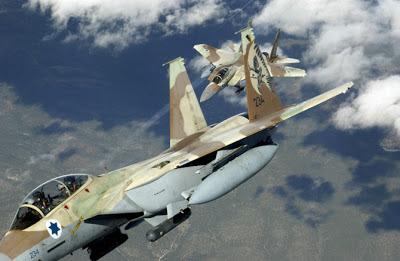 la proxima guerra aviones cazas de combate f-15 israel siria libano