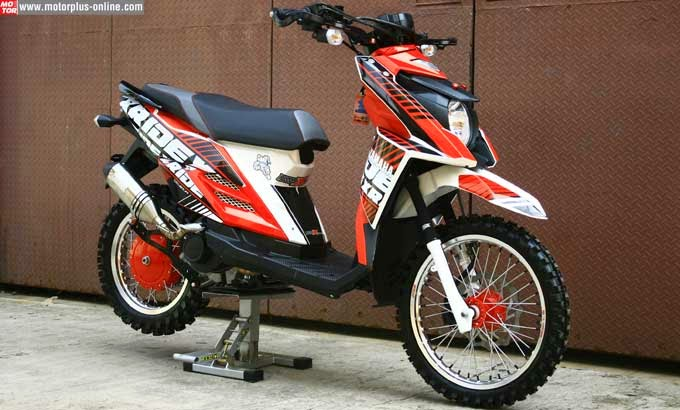 Modifikasi Mio Sporty Menjadi X Ride Modif Motor Terbaru 2019