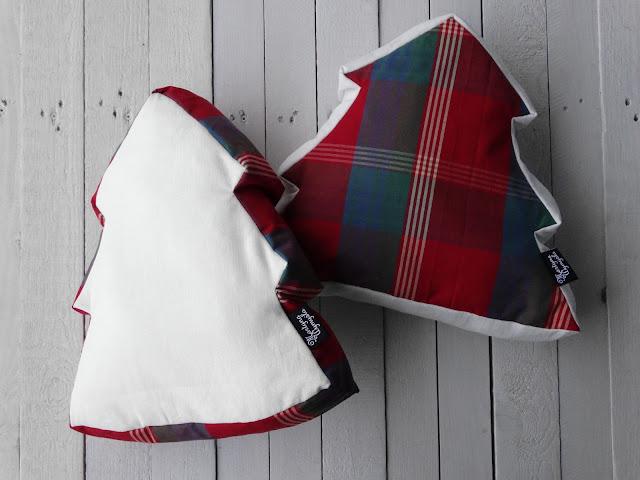 Poduszka choinka, świątecznie :)
