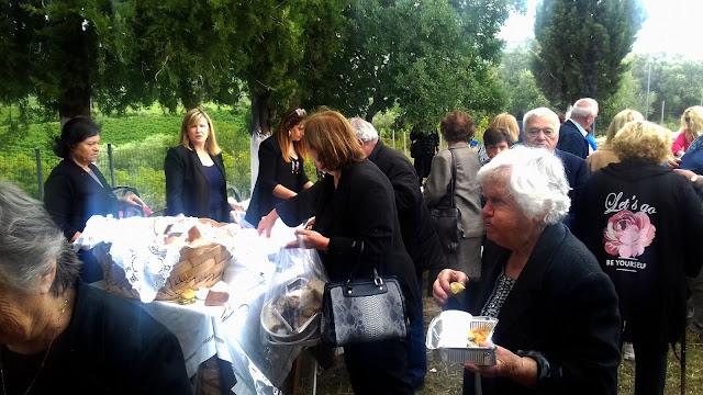 Θεσπρωτία: Προσφορά Εδεσμάτων Από Την Ενορία Κεστρίνης Θεσπρωτίας Στην Ανοιξιάτικη Εξοχή