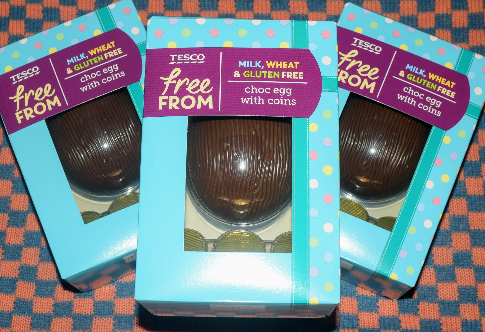 , Food:  Win a Tesco Free From Choc Egg With Coins
