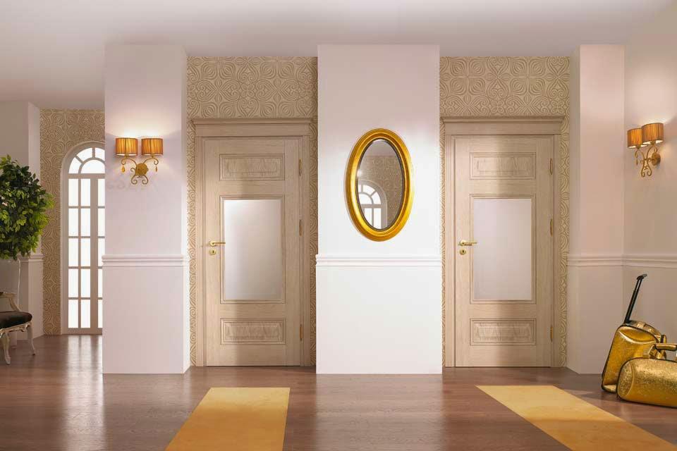 Nobili Design | Design interior case apartamente cu usi de interior stil clasic .