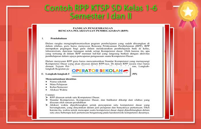 Contoh RPP KTSP SD