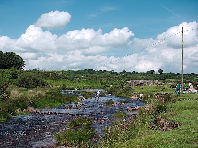 Dartmoor Fluss Picknick