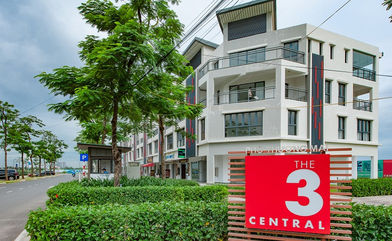 Khu Shophouse The Three Central