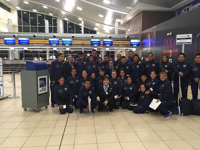 Copa Airlines apoyó al equipo de Olimpiadas Especiales Ecuador