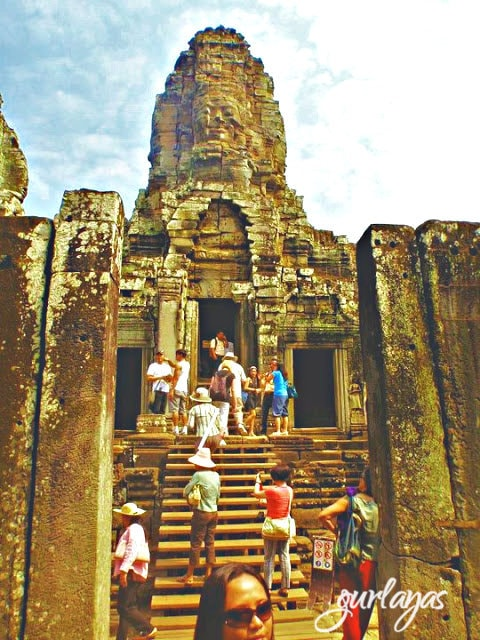 stairs Bayon temple by gurlayas.blogspot.com