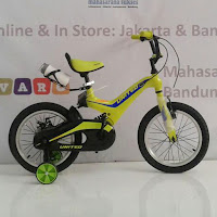 16 united nexium suspensi bmx sepeda anak