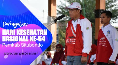 Peringatan Hari Kesehatan Nasional (HKN)  Ke-54 di Kabupaten Situbondo Tahun 2018