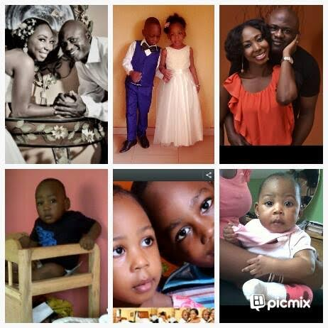Ronke Bewaji Shonde family and children