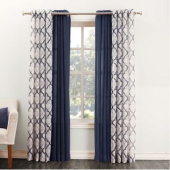 Elegant Curtains For Bedroom Dining Room Living Double Swag Shower