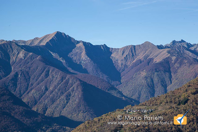 Panorama salendo al monte Faierone